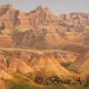 Yellow Mounds and Peaks