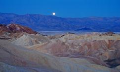 Zabrieski Point  in Death Valley