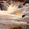 Fast Water At Gooseberry Falls