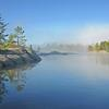 Morning Fog on Island Lake - Ontario,Canada